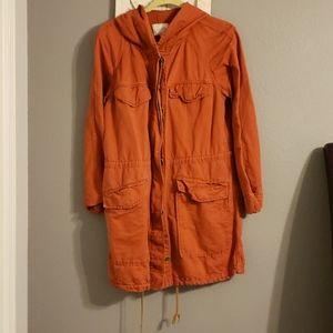 Loft Hooded Utility Jacket Size M